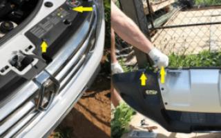 Замена противотуманной фары renault duster