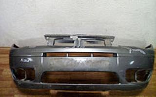 Замена заднего бампера фиат альбеа