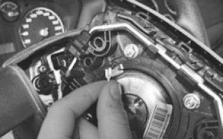 Замена подушки безопасности водителя форд фокус 3