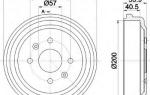 Замена тормозных барабанов на рено логан 2