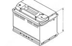 Аккумулятор mercedes-benz w210 c 1995 гг.
