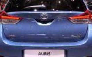 Обзор нового toyota auris (аурис) 2015 — 2016 года
