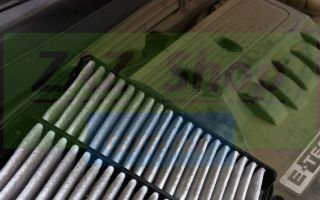 Замена воздушного фильтра на шевроле лачетти
