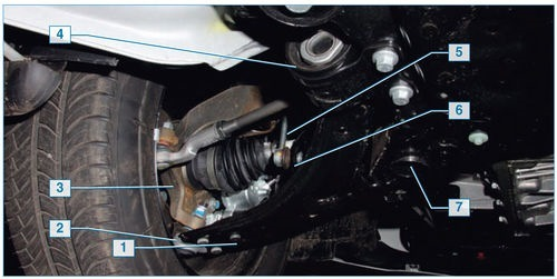 Передняя подвеска Форд Фокус 2