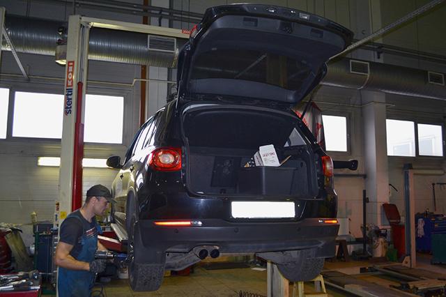 Устройство передней подвески Фольксваген Тигуан NF