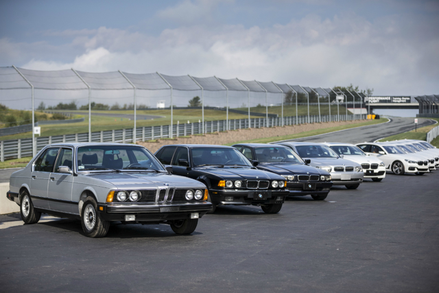 BMW 7 series 2016: первые фото и информация