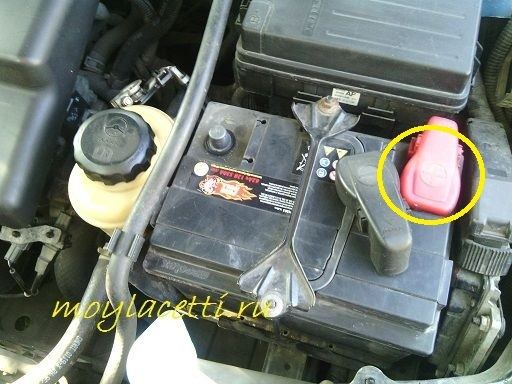 Аккумулятор Chevrolet Lacetti