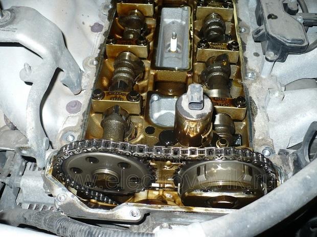 Замена цепи ГРМ Мазда 6 (GH), 2007 - 2012 г.в.