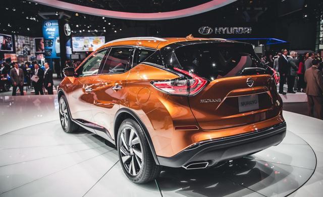 Nissan Murano 2016 - 2017: характеристики, фото и видео