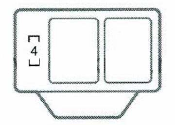 Предохранители и реле Тойота Виндом (V30)