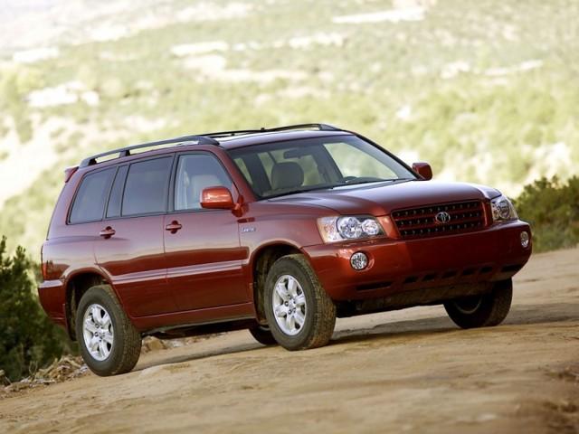 Предохранители Тойота Хайлендер (XU20), 2000 - 2007 г.в.