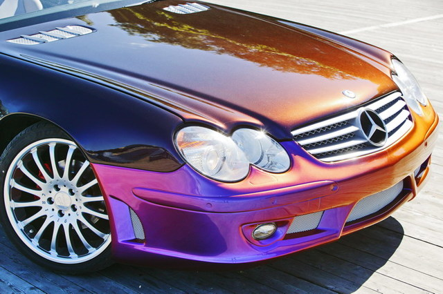 Покраска кузова автомобиля: способы нанесения красителей и их типы