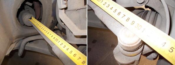 Замена рулевых наконечников Тойота Королла (Е150)