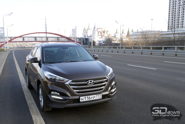 Обзор Hyundai Tucson 2016 года
