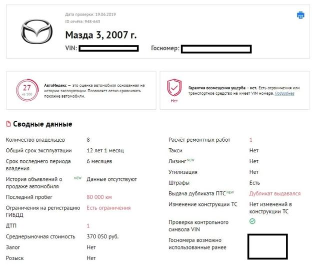 Двигатель Mazda 3 (BK)