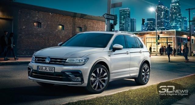 Volkswagen Tiguan 2014 – обновленный Фольксваген Тигуан [фото]