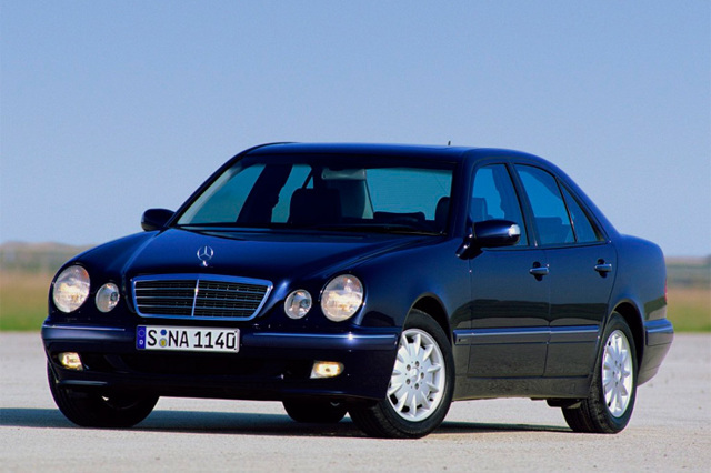 4Matic Mercedes-Benz W210 c 1995 гг.