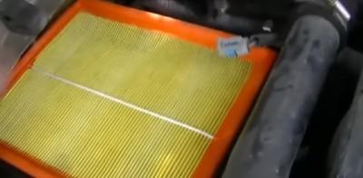 Замена воздушного фильтра Дэу Нексия (N100)