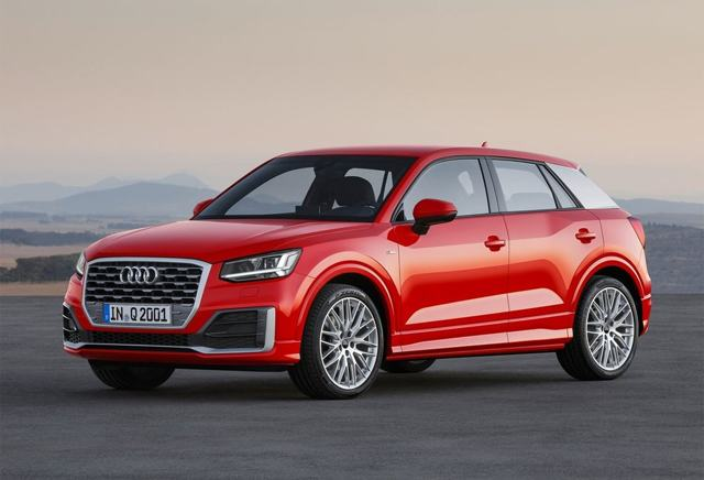 Audi Q2 2016-2017: уроки геометрии