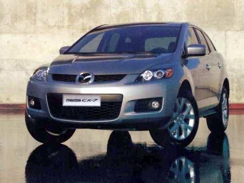 Технические характеристики Mazda CX-7 (ER), 2006 - 2012 г.в.