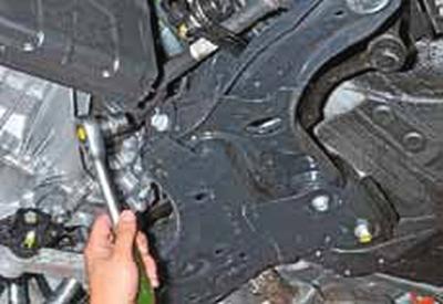 Замена рычагов передней подвески Киа Рио 3
