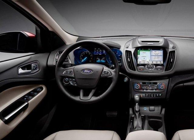Готовится мировой дебют обновленного Ford Kuga 2016 модельного года