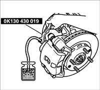 Тормозная система Киа Рио 2 (JB)