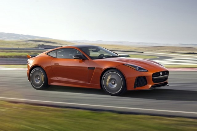 Jaguar F-Type SVR 2016: не довезли