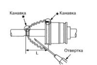 Разборка приводных валов, замена пыльников Фольксваген Пассат Б6