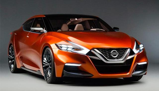 Nissan Maxima 2016: новый взгляд [фото]
