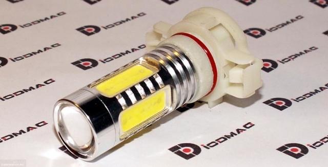Замена лампы противотуманной фары на Рено Логан 2