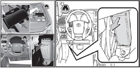 Предохранители Тойота Ленд Крузер Прадо 150