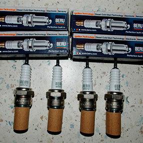 Замена свечей зажигания на Рено Дастер