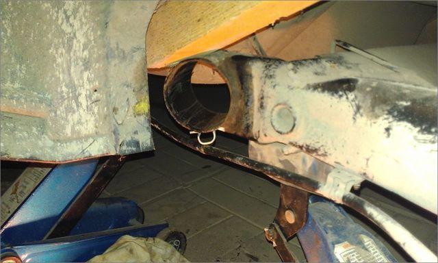 Задняя подвеска Шкода Октавия А5