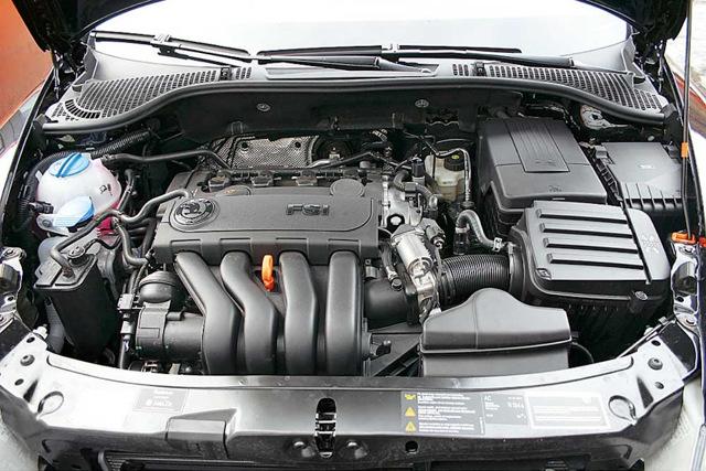 Двигатель Шкода Октавия А5