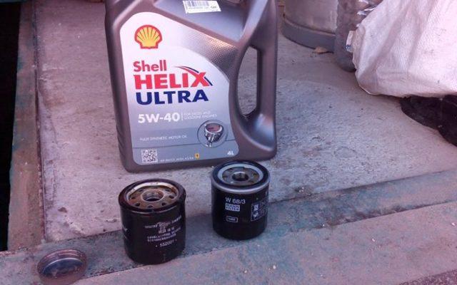 Замена масла и масляного фильтра на Джили МК