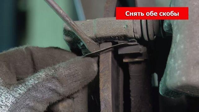 Замена тормозных дисков Опель Астра Н / Зафира Б