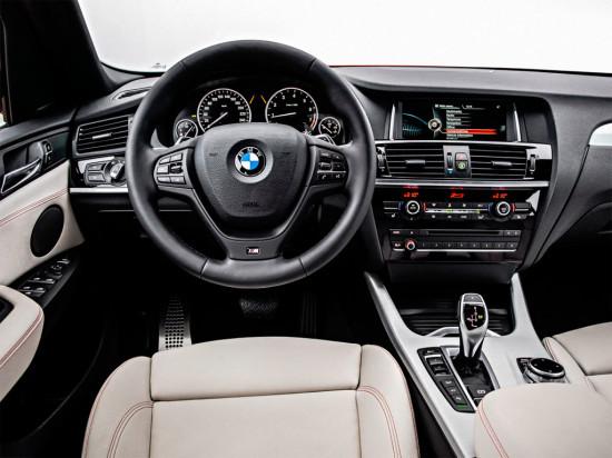 BMW X4 2014 – первые фото нового компактного кроссовера
