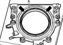 Замена переднего сальника коленвала на Фольксваген Пассат Б5