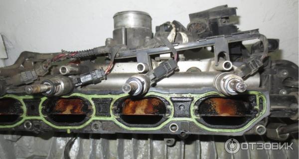 Замена впускного трубопровода на Фольксваген Пассат Б6