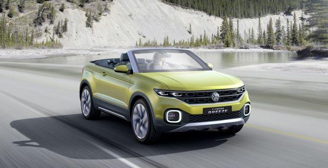 Volkswagen T-Cross Breeze 2016: ветер перемен
