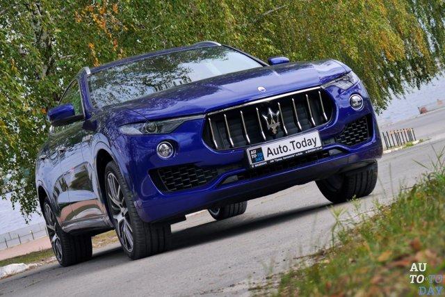 Maserati Levante 2016: дебют страстного «итальянца»