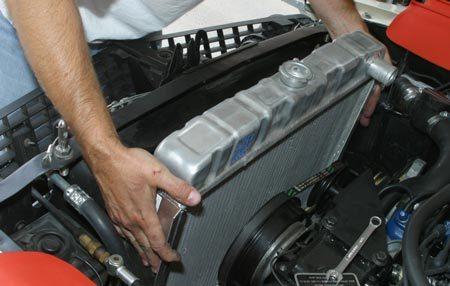 Замена радиатора Форд Мондео 1