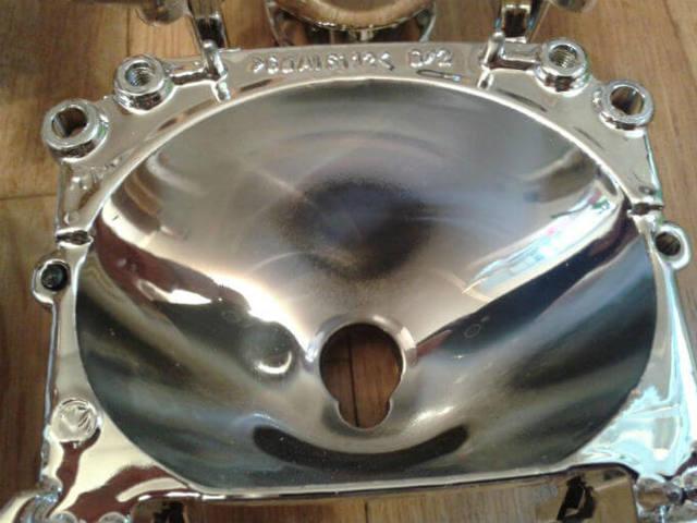 Восстановление зеркального покрытия фары