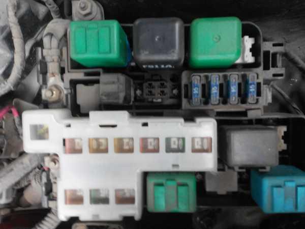 Предохранители Mazda 626 (GF), 1997 - 2003 г.в.