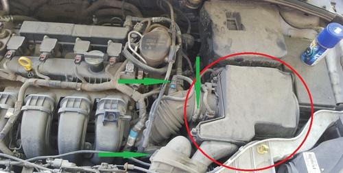 Замена датчиков двигателя Форд Фокус 3