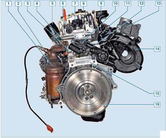 Замена датчиков системы управления двигателем Фольксваген Поло 1.6 седан