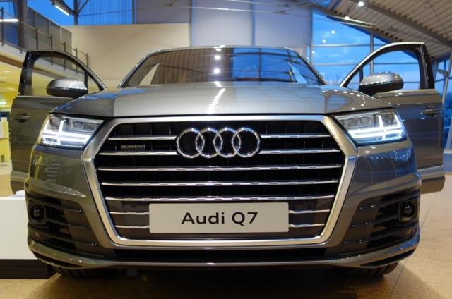 Audi Q7 2014 - обновленный Q7 от Audi [фото]
