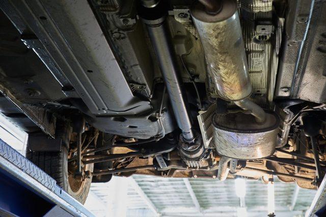 Замена карданной передачи Рено Дастер