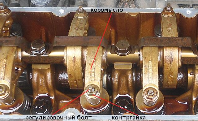 Регулировка зазоров в приводе клапанов на Рено Логан 2